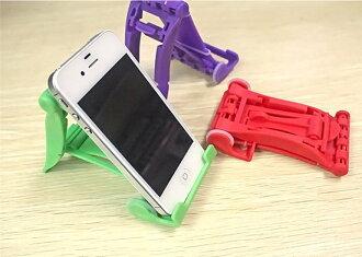【當日出貨】不挑色 萬用懶人支架 iPhone 6 小米 三星 平板電腦 懶人支架 通用支架座 ipad懶人支架 ROCK-MOOD