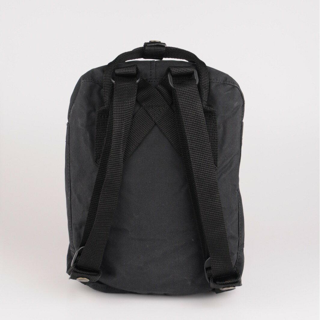 【Fjallraven Kanken 】K?nken mini 550 Black 黑 3