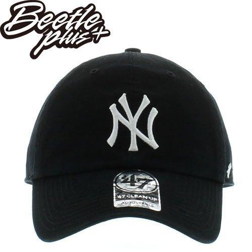BEETLE 47 BRAND 老帽 紐約 洋基 NEW YORK YANKEES DAD HAT 大聯盟 MLB 黑白 MN-388 0