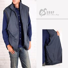 CS衣舖 加大尺碼 高機能 防風保暖舖棉背心 3300 - 限時優惠好康折扣