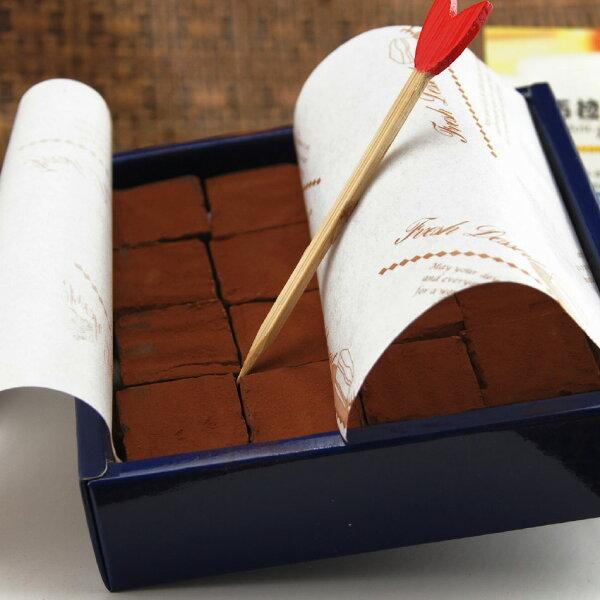 【布拉伯烘焙工坊】 精典手工生巧克力16入/盒