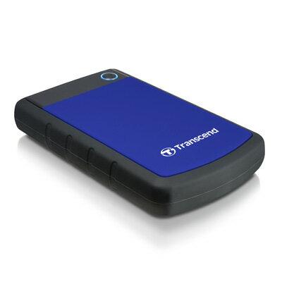 【綠蔭-全店免運】創見 StoreJet 25H3 1TB行動硬碟(USB3.0) 尊爵藍