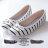 格子舖*【KPWB826】MIT台灣製 蝴蝶結海軍條紋學院風 圓頭平底包鞋 娃娃鞋 懶人鞋 3色 0