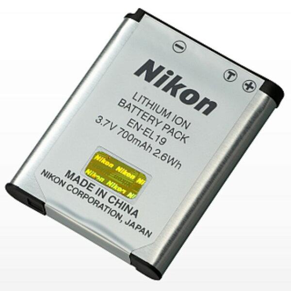 【Nikon】EN-EL19 原廠鋰電池 (裸裝)Coolpix S7000/S6900