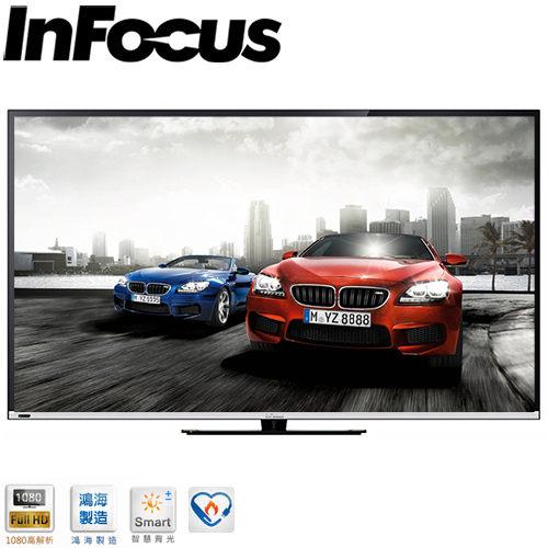 鍾愛一生  InFocus鴻海  60吋LED連網液晶顯示器 XT-60CM802