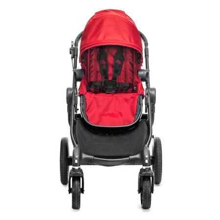 美國【Baby Jogger】City Select 四輪嬰兒推車 (黑管黑) 1
