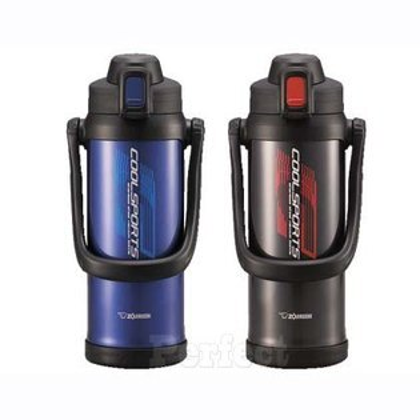 【ZOJIRUSHI ● 象印】運動型不鏽鋼真空保冷瓶2.06L SD-BA20  **免運費**