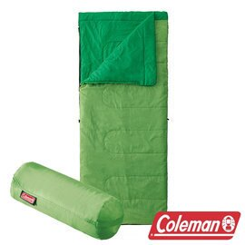 Coleman 表演者II睡袋-沼綠 CM-27260 (舒適溫度:15℃) 信封型睡袋|登山|露營|戶外
