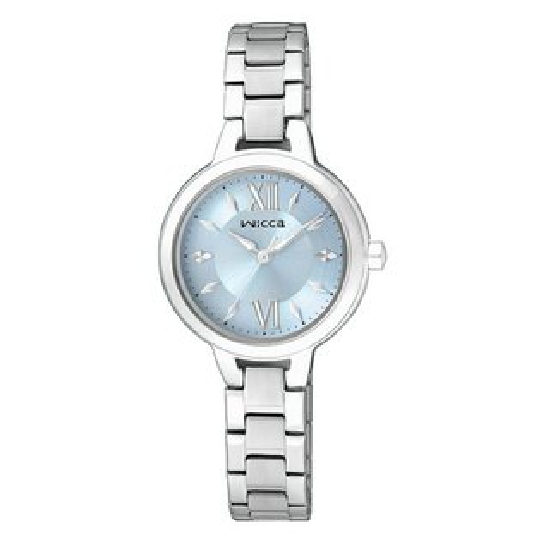 CITIZEN星辰WICCA(BG3-716-71)公主典雅時尚腕錶/藍面26mm