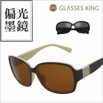 眼鏡王☆方塊裝飾經典顯瘦韓國正妹大框方框海邊必備太陽眼鏡防眩光偏光墨鏡黑色咖啡P55