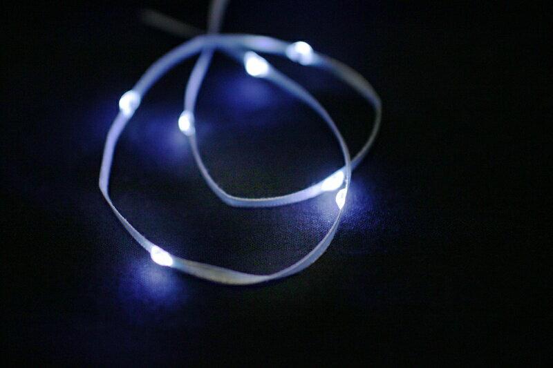 LiTex LED緞帶-白燈系列     聖誕節 婚禮佈置 派對節慶 DIY手工手作 舞台服裝 8