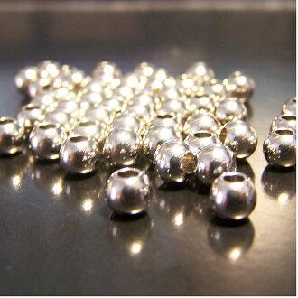 保色銀珠 5mm DIY項鍊/手鏈圓珠配件 - 限時優惠好康折扣