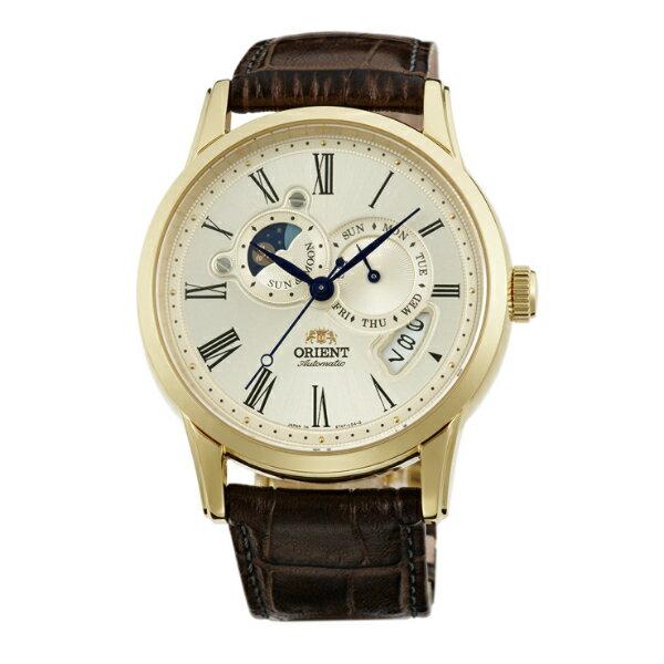 Orient 東方錶(SET0T005Y)SUN&MOON系列 65週年紀念限量月相錶/白面42.5mm