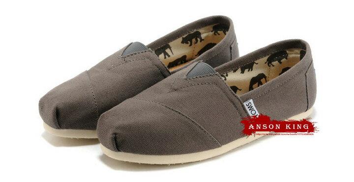 [女款] 國外代購TOMS 帆布鞋/懶人鞋/休閒鞋/至尊鞋 帆布系列  灰色 2