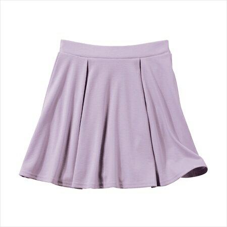 日本空運nissen  -女裝-附安全褲針織裙-薰衣草紫色