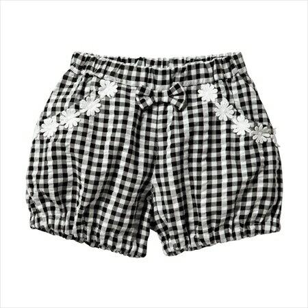 日本空運nissen  -童裝-燈籠褲-黑色系格紋