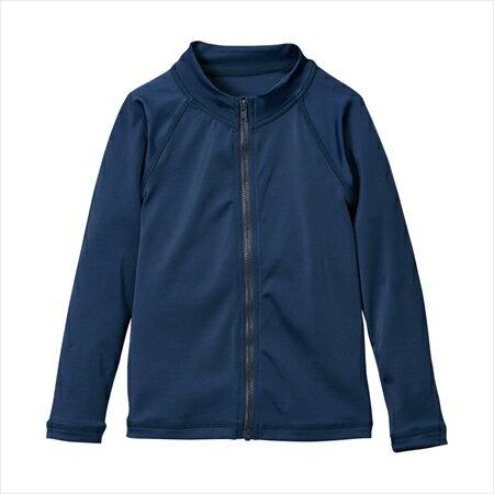日本空運nissen  -童裝-長袖遮陽外套-深藍色