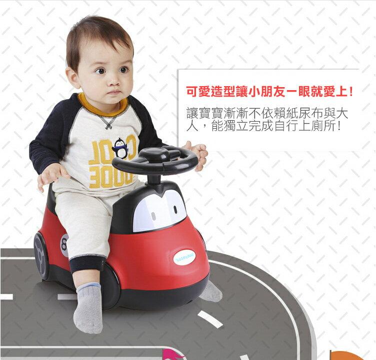 『121婦嬰用品館』傳佳知寶babyhood 小汽車座便器-藍色 2