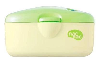 ★衛立兒生活館★Nac Nac-嬰兒濕紙巾加熱器(保溫)(贈超純水濕巾60抽×2包)