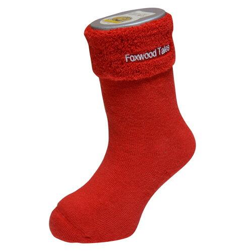 『121婦嬰用品館』狐狸村 保暖透氣毛巾長筒襪(9-11cm) 2