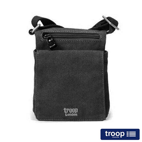 【TROOP】經典品格CLASSIC斜背包/TRP0243BK