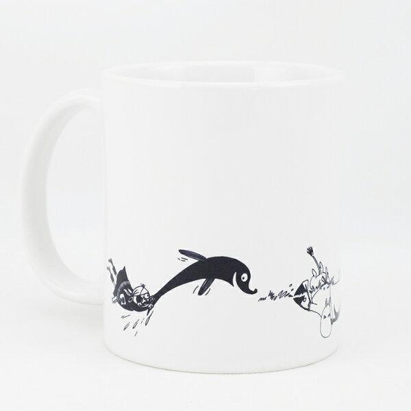 Moomin嚕嚕米授權 - 馬克杯 / 牛奶杯:【 尾巴 】
