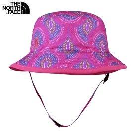 [ THE NORTH FACE ] 童  抗UV遮陽帽 桃粉紫孔雀紋 / 公司貨 NF00A6R5EZA