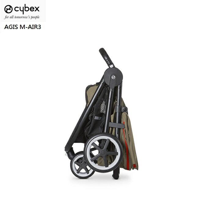 德國【Cybex】Agis M-AIR3 輕便三輪推車(卡其) 1
