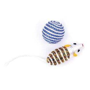 貓玩具(銀色老鼠)