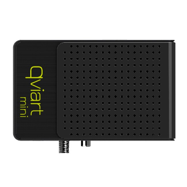 QVIART MINI HD + CABLE HDMI GRATIS. RECEPTOR SATELITE HD 0