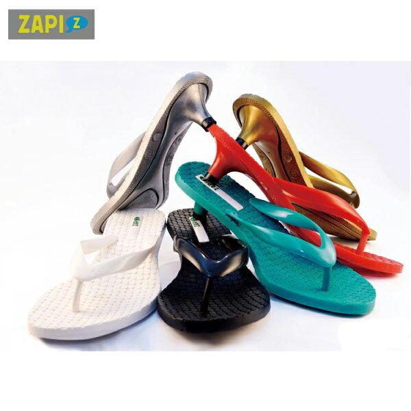 ZAPI-休閒貓跟拖鞋