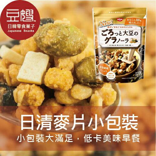 【即期賠本價】日本零食 NISSIN 日清早餐大豆麥片(220g小包)