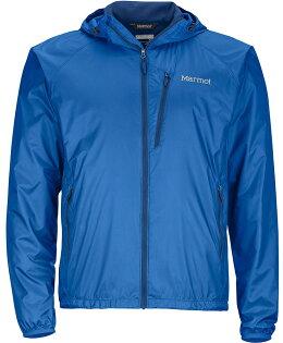 Marmot DriClime 風衣外套 防風快乾 Ether DriClime 連帽男款 52430-3963 藍