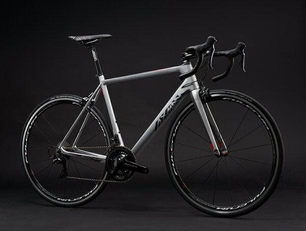 【7號公園自行車】AXMAN 2017 BRONCOS SL5 銀黑色公路車
