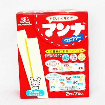 【敵富朗超巿】森永製果 MANNAR嬰兒威化餅 (35.7g) - 限時優惠好康折扣