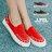 格子舖*【KF3188-6】韓國製造 個性時尚金屬鉚釘 質感布面拼接繩索編織 鬆緊穿拖懶人鞋 3色 0