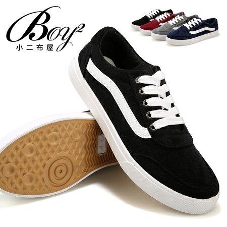 ☆BOY-2☆【JP99027】男鞋  側面線條低幫休閒鞋 0
