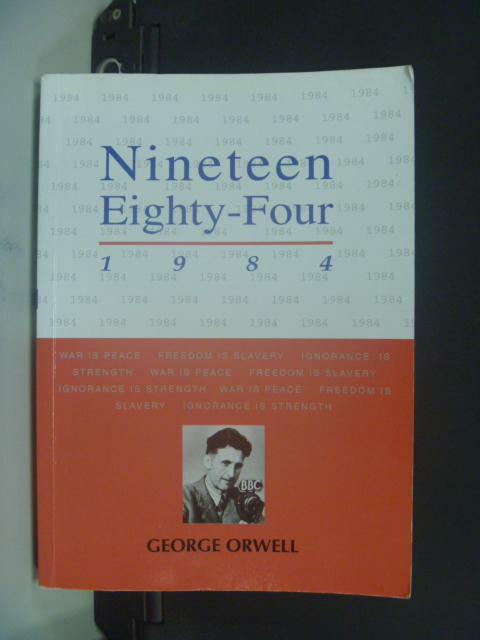 ~書寶 書T1/大學社科_NRX~NINETEEN EIGHTY~FOUR 1984