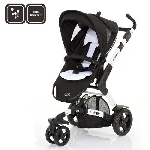 【好禮五選二】德國【ABC Design】3TEC 嬰兒推車(黑白個性款)(蚊帳/雨罩-11月寄出) 1