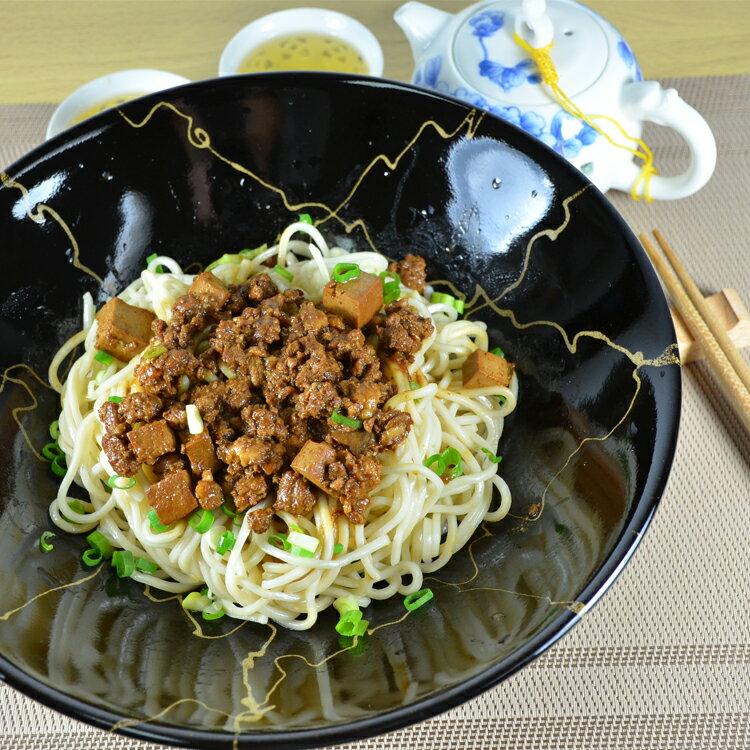 【 禾禾廚房】快樂豬炸醬佐功夫拉麵(1組5份) 0