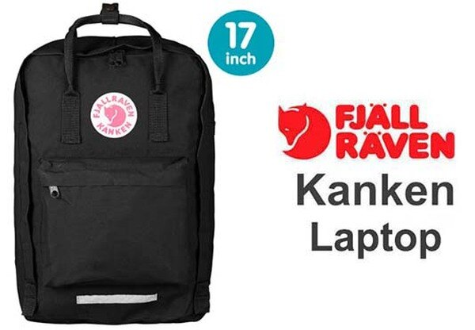 瑞典 FJALLRAVEN KANKEN  laptop 17inch 550 Black 黑 小狐狸包