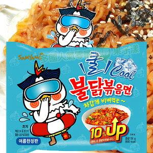 韓國 噴火辣雞肉風味炒麵(冷拌麵款) (單包)/泡麵 [KR256]