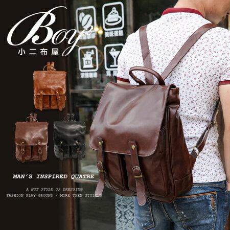 ☆BOY-2☆【NQA5005】韓國質感皮革後背包 0