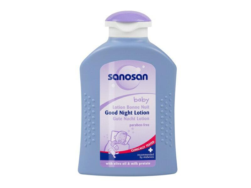 【Sanosan珊諾】寶寶薰衣草晚安潤膚乳液 200ml - 限時優惠好康折扣
