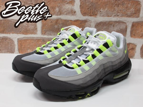 BEETLE PLUS NIKE AIR MAX 95 NEON OG 氣墊 反光 螢光綠 男鞋 慢跑鞋 木村拓哉 554970-071 1