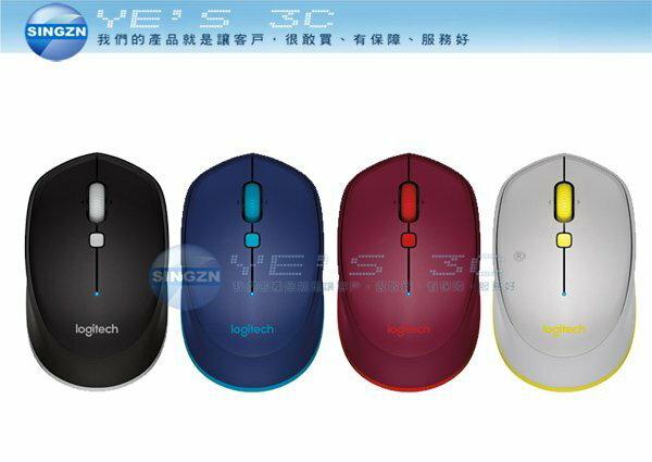 「YEs 3C」Logitech 羅技 M337 藍牙 無線光學滑鼠 適用於Android 平板 橡膠握把