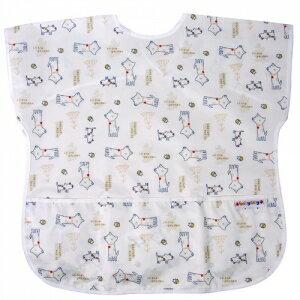 台灣【Baby City】防水短袖圍兜-6種花色(3-5歲)  4