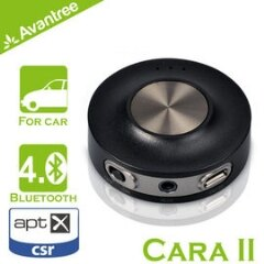 【風雅小舖】【Avantree Cara II藍芽免持/音樂接收器(BTCK-200)】支援aptX 可接聽電話/播放音樂 同時與兩支手機連接 內建鋰電池 - 限時優惠好康折扣