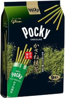 POCKY巧克力棒分享包(9袋入) - 宇治抹茶 117g