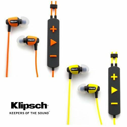 Klipsch Image S4i Rugged In-Ear Headphones 運動型防潑水三鍵式線控附麥克風耳塞式耳機